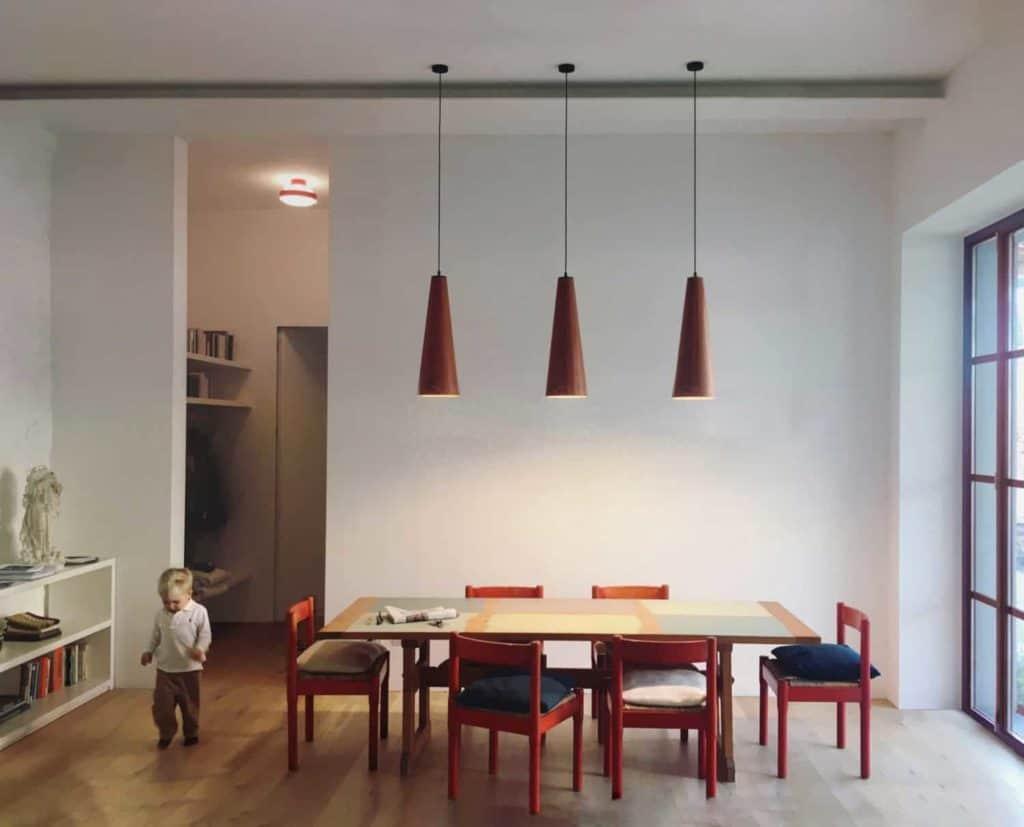 Pietrasanta, home conversion, livingroom design, magistretti