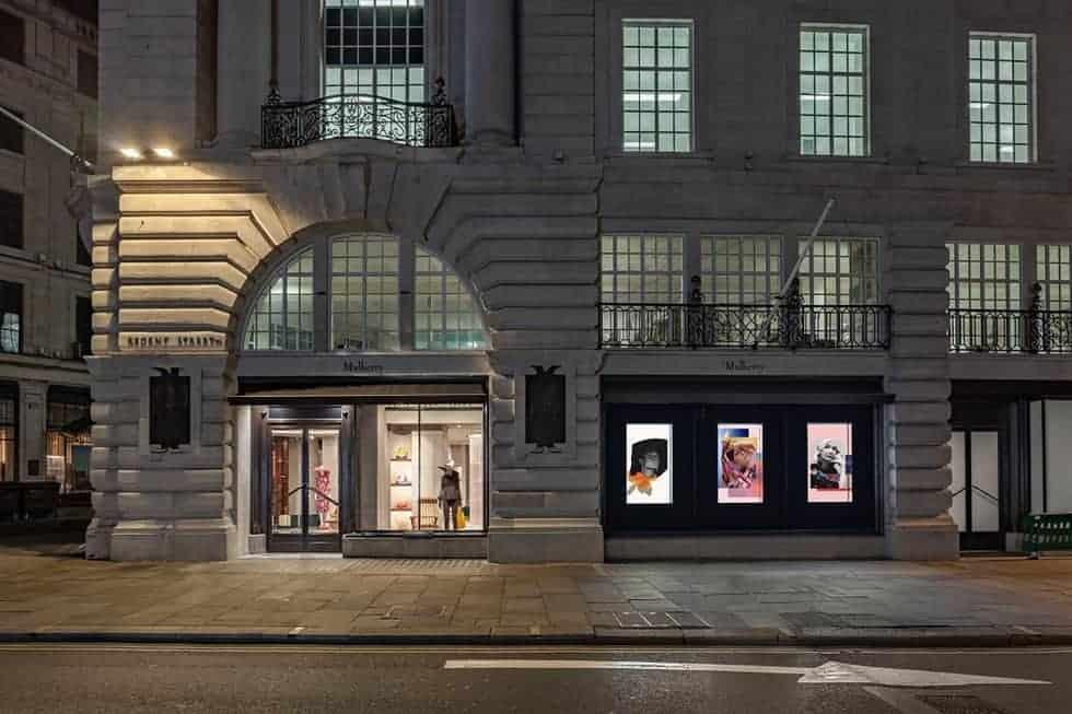 Mulberry flagship Regent Street