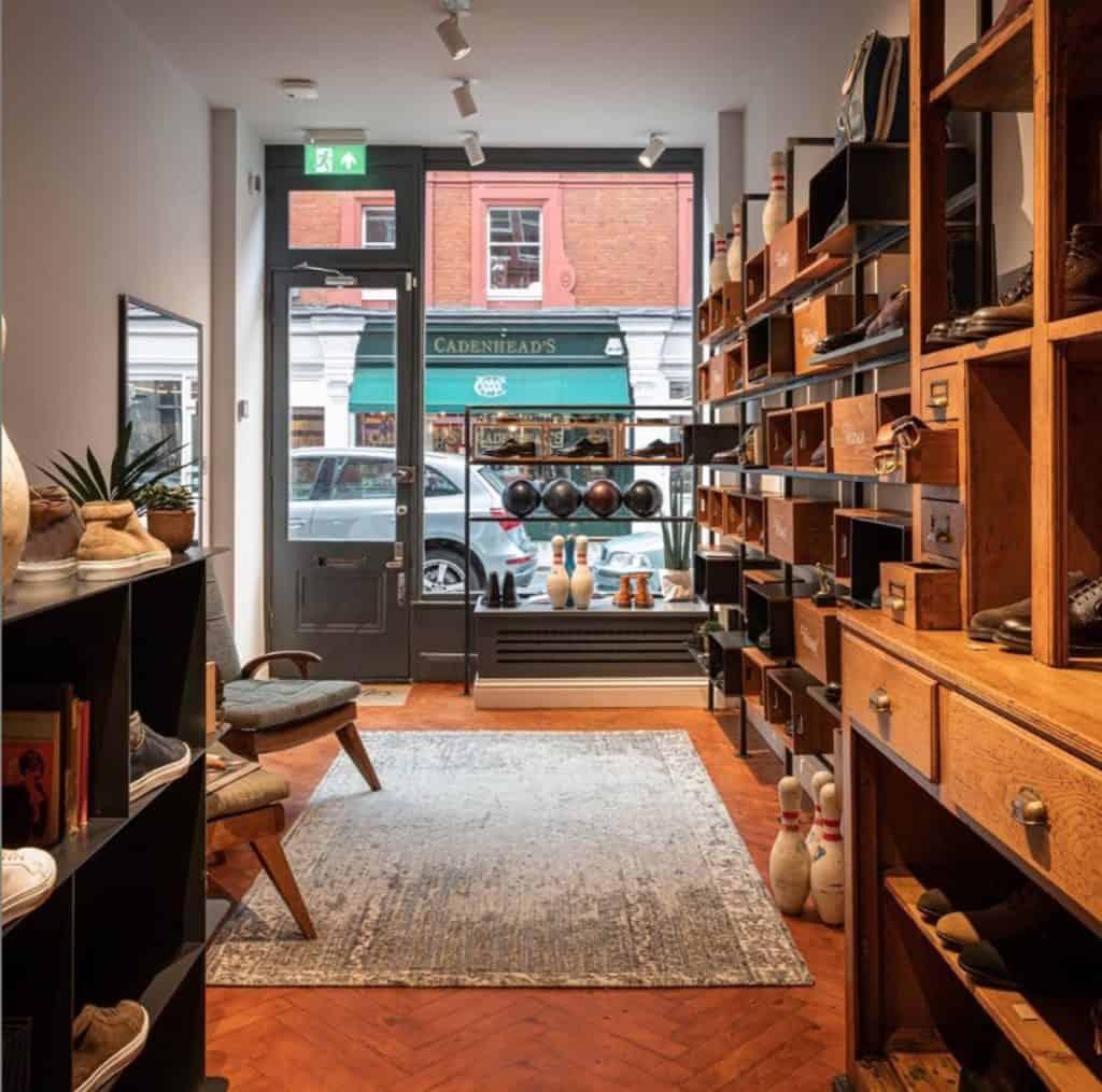 Velasca Chiltern Street bespoke independent Flair Studio