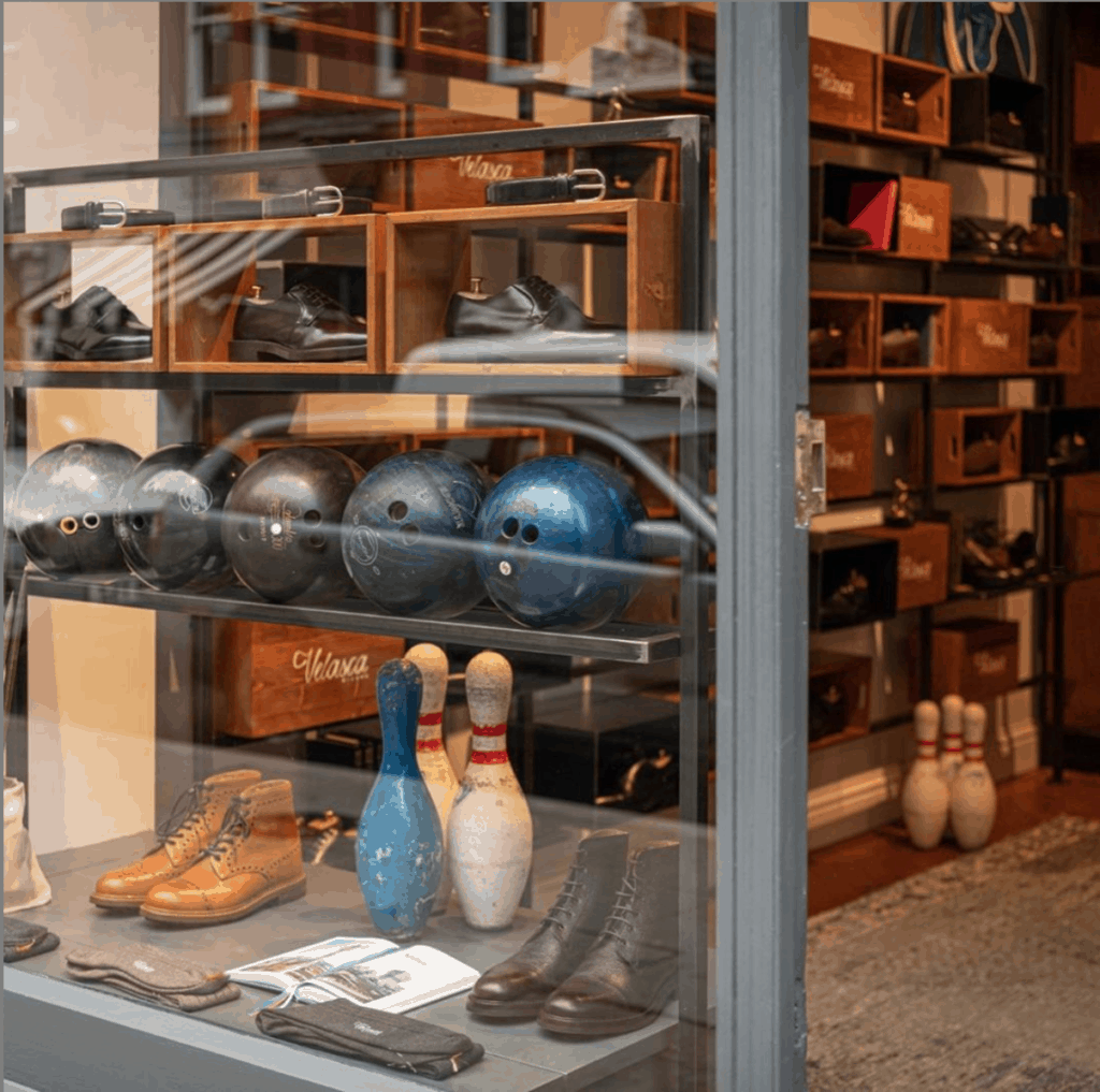 Velasca store London Chiltern Street hand made flair studio