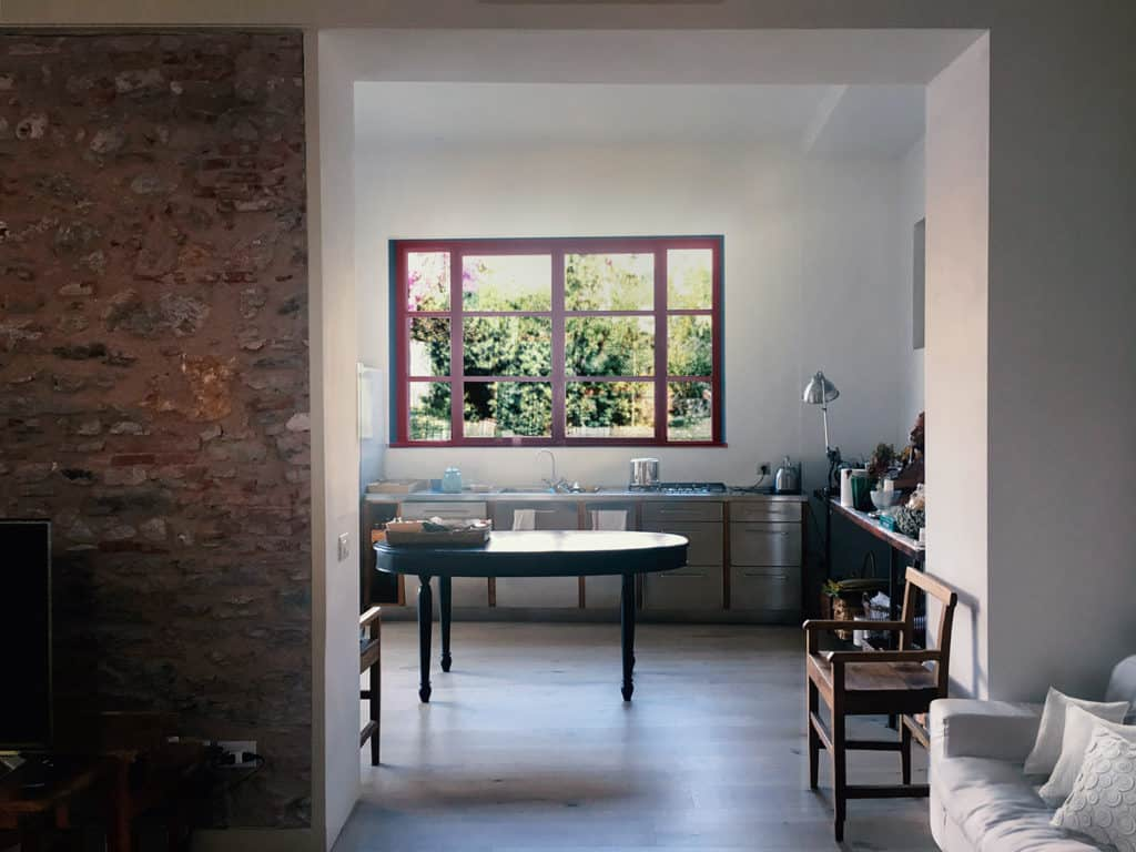 Pietrasanta, home conversion, kitchen extension, kitchen design, vintage