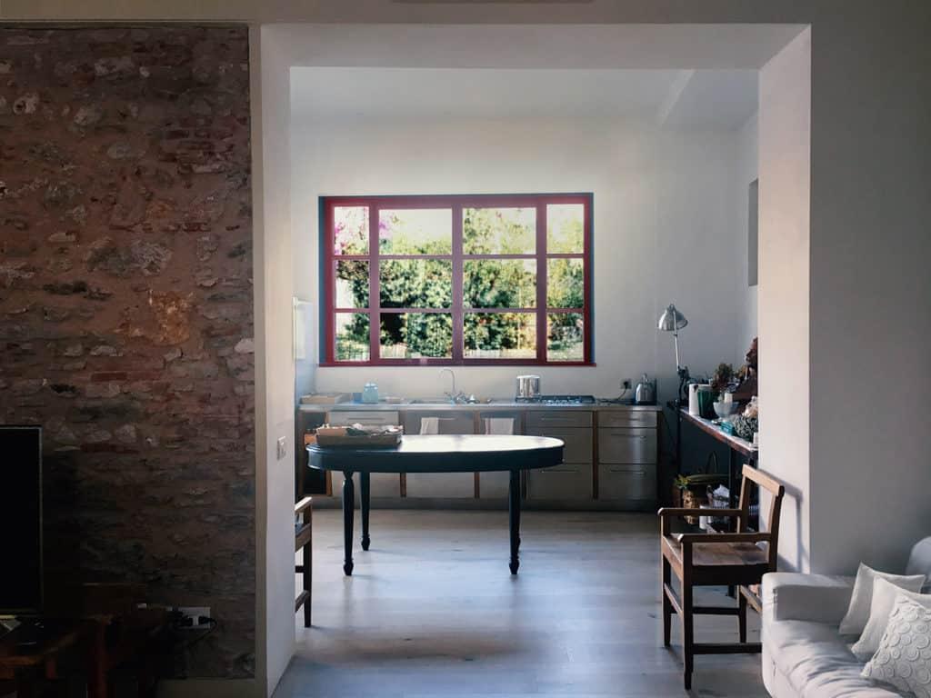 Pietrasanta, home conversion, kitchen extension, kitchen design, vintage