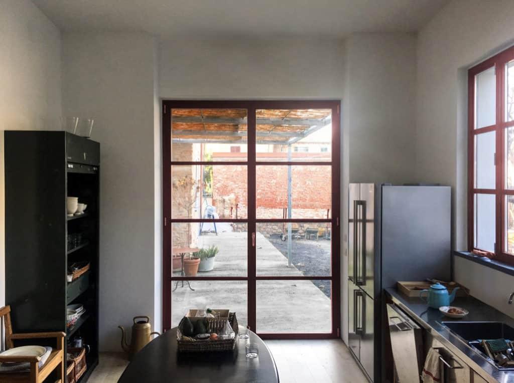 Pietrasanta, kitchen extension, rear extension, kitchen design