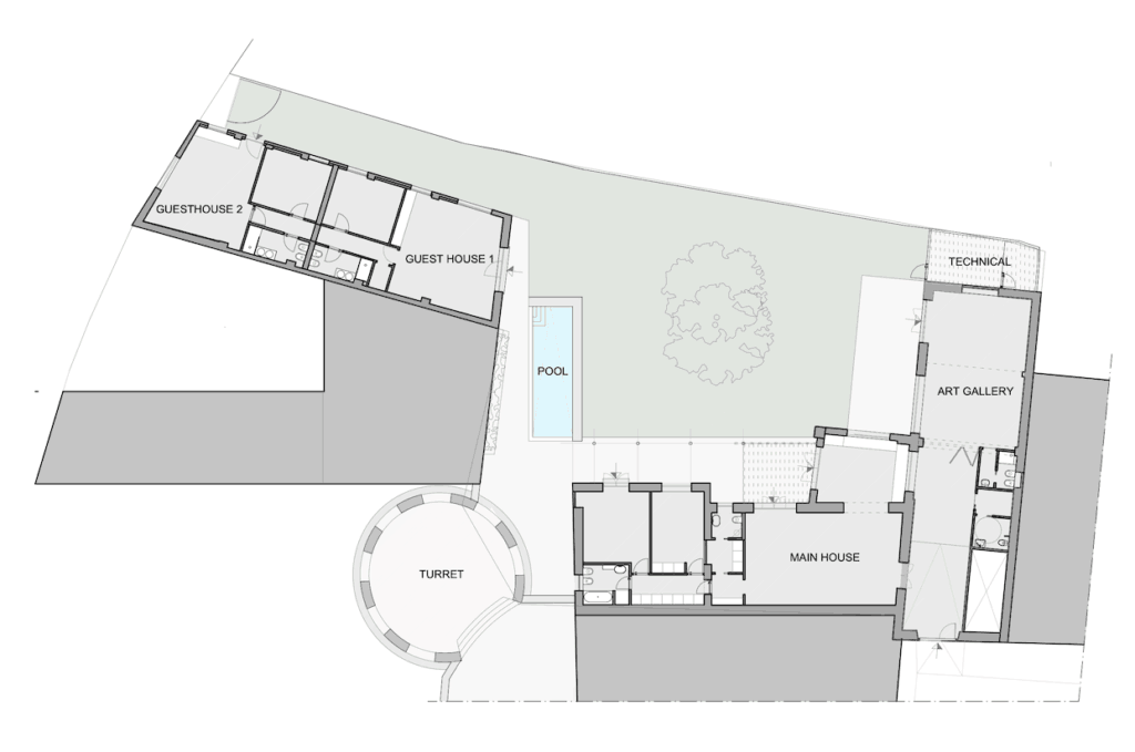 Pietrasanta Siteplan flair Studio design
