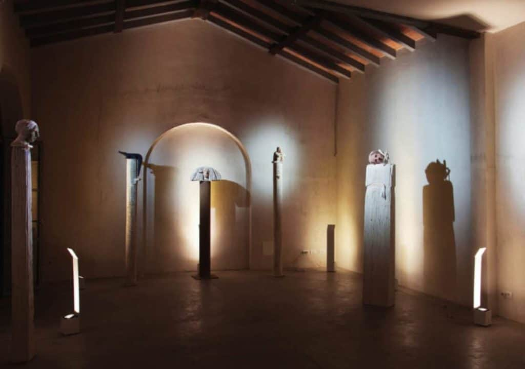 art Gallery pietrasanta Ciulla exhibition flair studio design