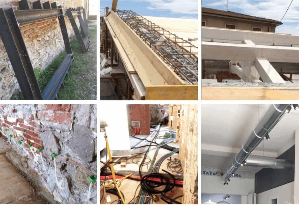 Sustainable refurbishments triple glazing passve house insulation reinforcements