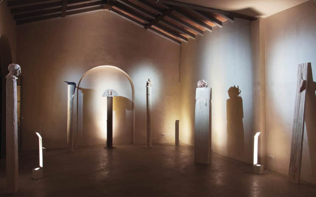 Pietrasanta, art gallery, exhibition Gerolamo Ciulla, Flair Studio Design