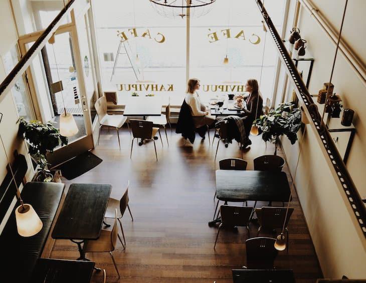 cafe-Restaurant design post pandemic - Flair Studio article
