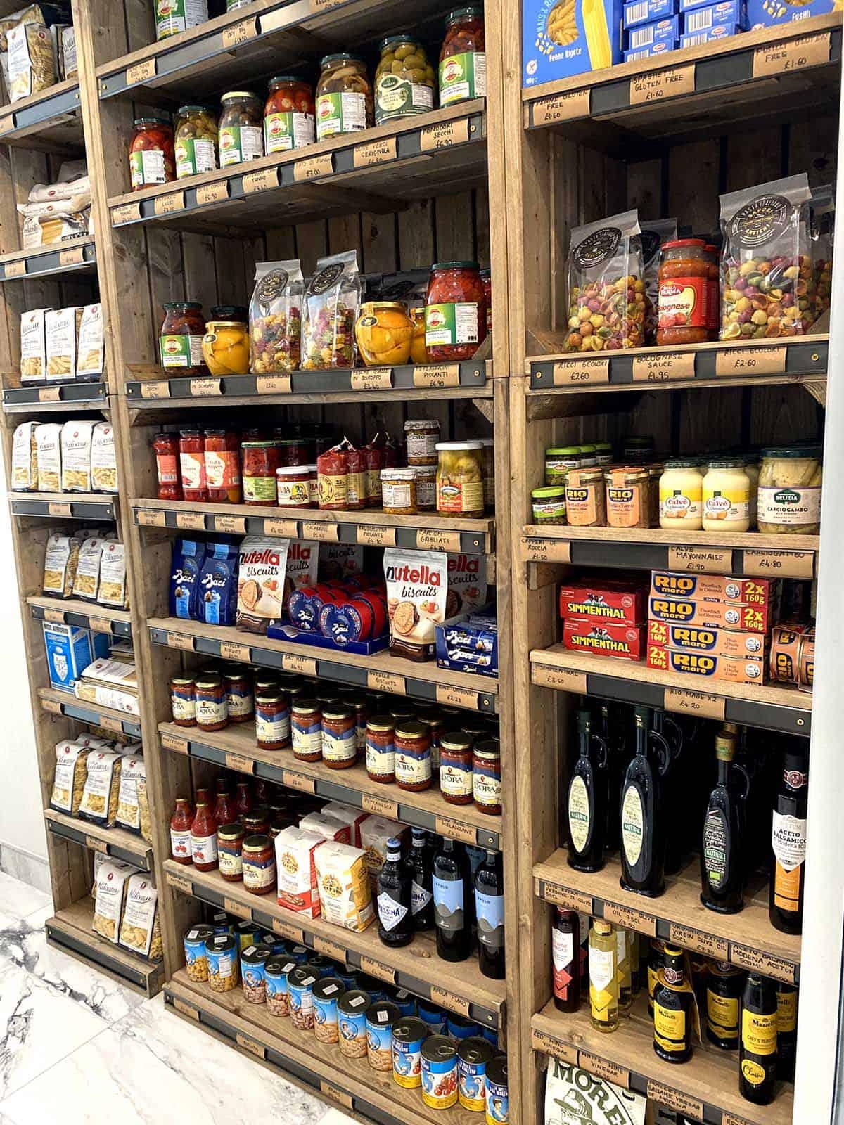Cataldo's Italian, retail, food, Italian, flair studio
