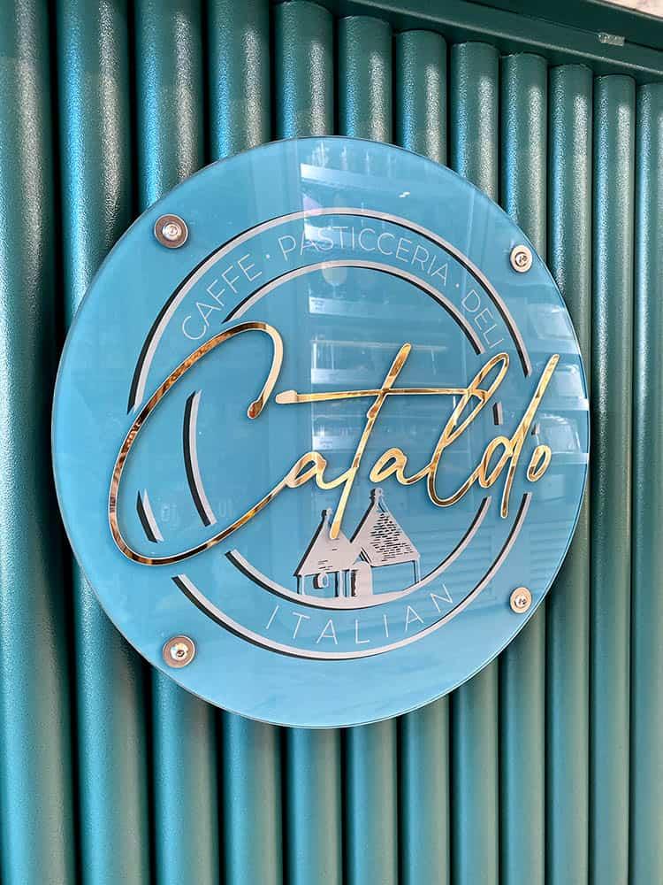 Cataldo's Italian, brand ID, logo, flair studio